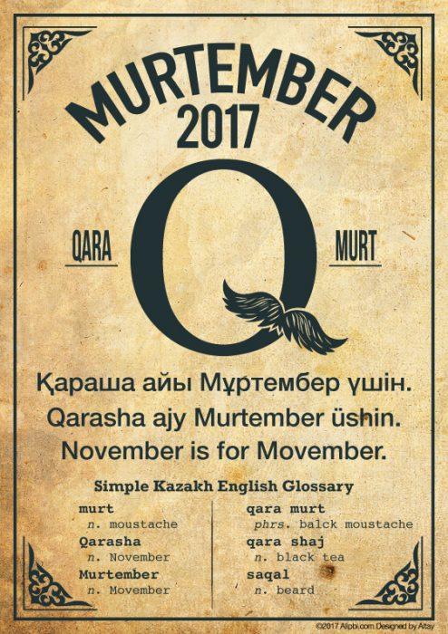 Murtember Kazakh Movember